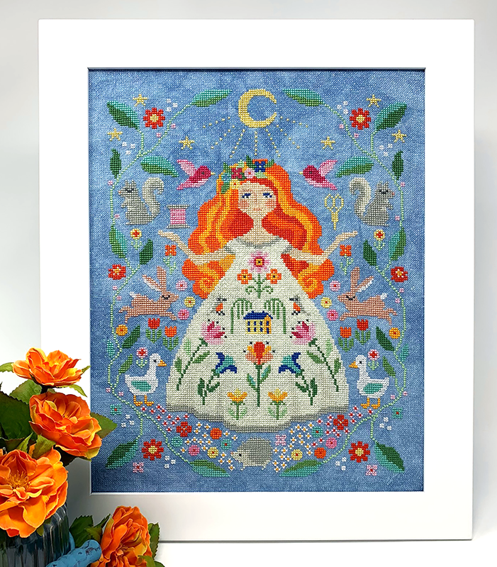 Stitch Goddess Cross Stitch Pattern Instant Download
