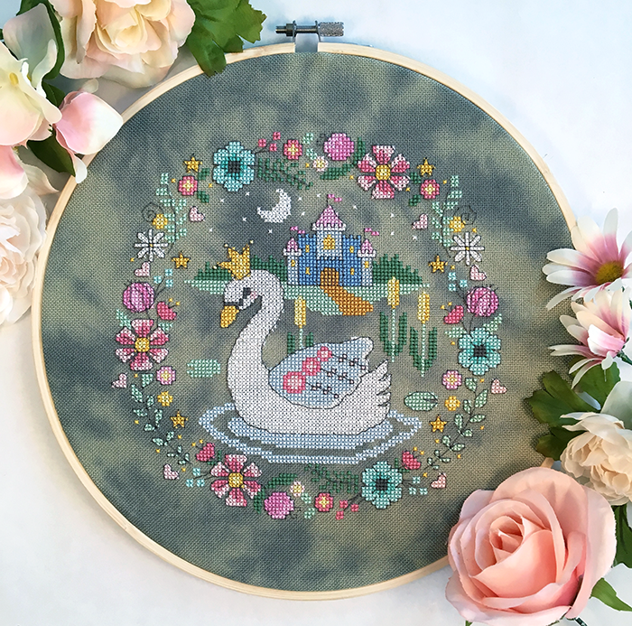 Modern Cross Stitch - The Swan Princess Cross Stitch Pattern PDF
