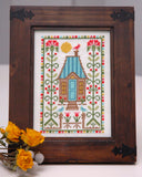 Thistle Sampler Cross Stitch Pattern Instant Download