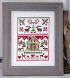 Woodland Sampler Cross Stitch Pattern Instant Download