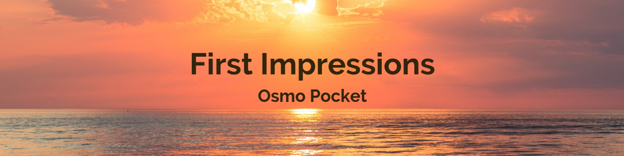 DJI Osmo Pocket: First Glance