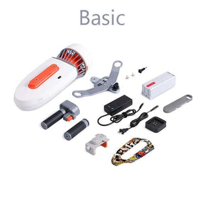 Sublue Whiteshark Tini Underwater Scooter disassembled Basic package