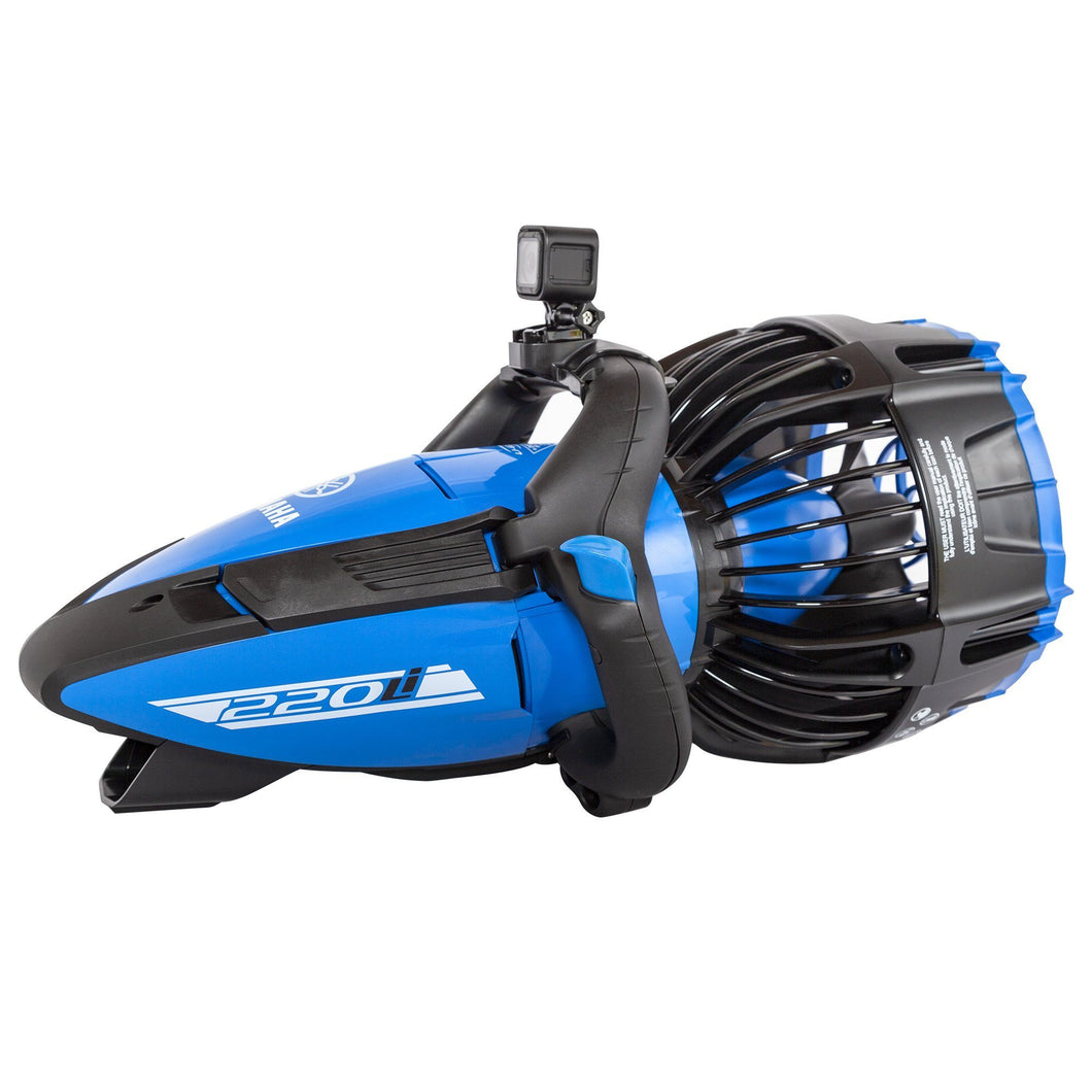 The Yamaha 220Li Seascooter is ideal for the hobby divers and experienced professional divers.