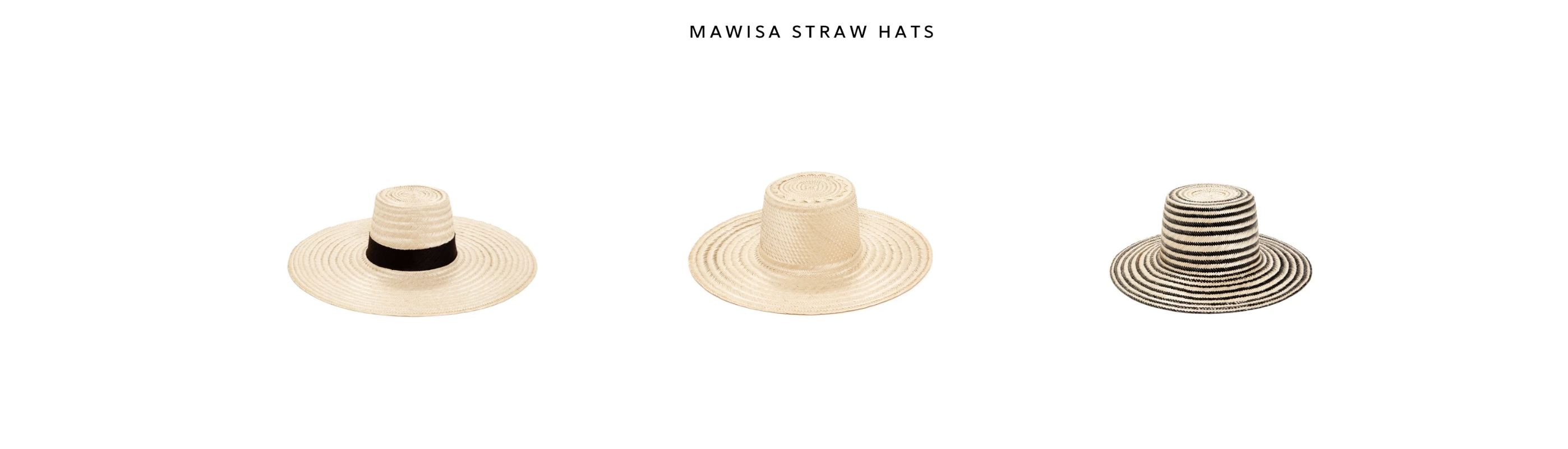 mawisa straw hats by janessa leone most protective straw from sun uv rays