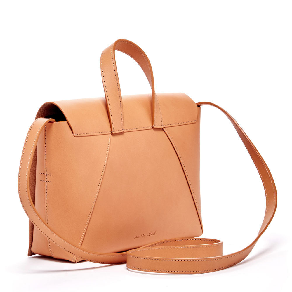JANESSA LEONE - Leather Crossbody Nude - Joan