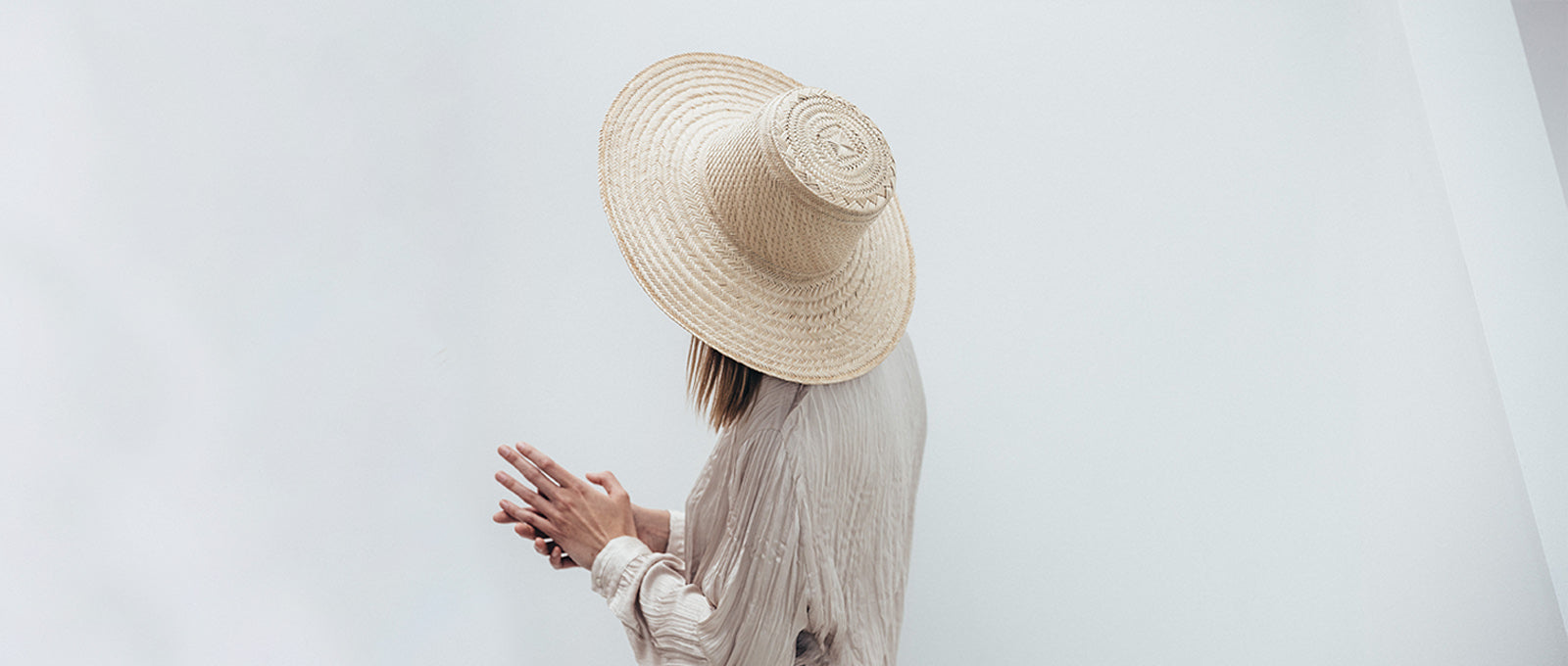 Janessa Leone Summer Women's Hats Summer Spring Hats made for the beach and traveling | Wide brimmed straw hats ivory natural cream straw natural straw hat | Boater hats for women | Wide brimmed boater hat boater style womens hat | Sun protective hat with thick straw weave | Beach travel hat