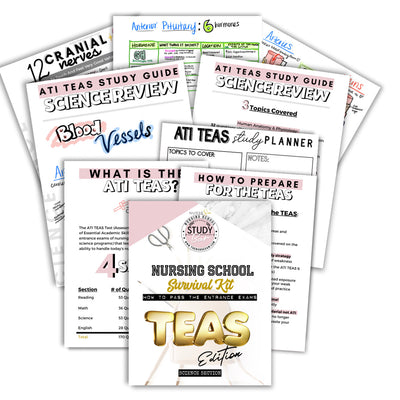 ATI TEAS Science Study Kit - The Nurse Sam
