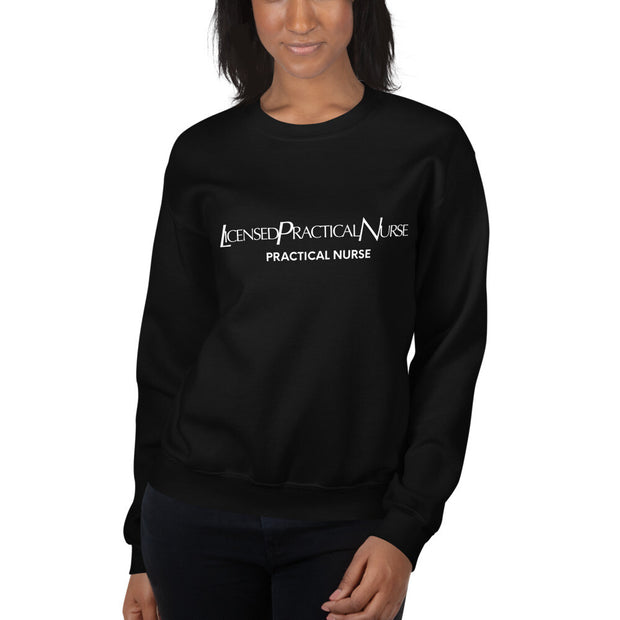 LUX Nurse LPN Sweatshirt - The Nurse Sam