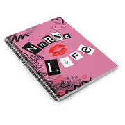 Nurse Life Spiral Notebook - The Nurse Sam