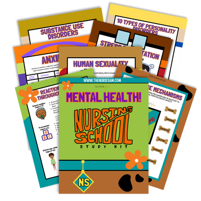 Mental Health Study Kit - The Nurse Sam