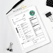 NURSEbucks Clinical Report Sheet Template (VERSION 2) - The Nurse Sam