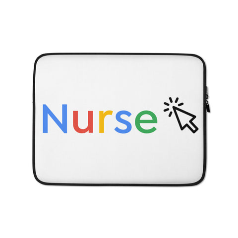 Google Nurse Laptop Sleeve - The Nurse Sam