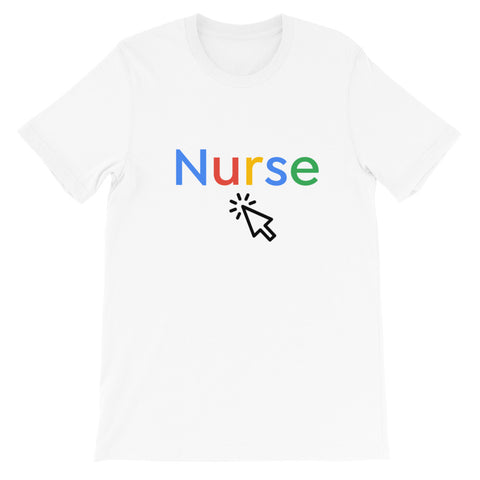 Google Nurse T-shirt - The Nurse Sam