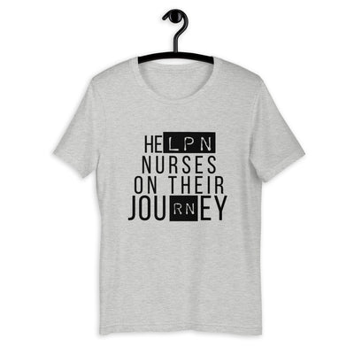 Nurse LPN RN Journey T-shirt - The Nurse Sam