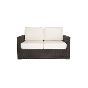 La Jolla Loveseat - Espresso | Your Patio Store