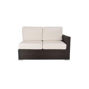 La Jolla Right Arm Loveseat - Espresso | Your Patio Store