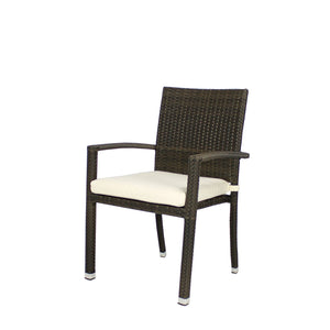 Zara Dining Arm Chair | Your Patio Store