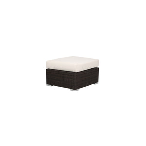 La Cienega Ottoman Rectangular La Cienega Collection RH Patio