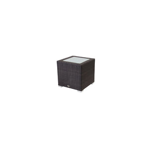 La Jolla End Table (Square) - Espresso | Your Patio Store