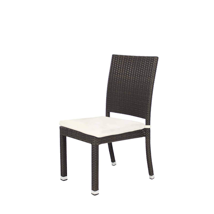 Zara Dining Side Armless Chair - No Cushion - Final Sale