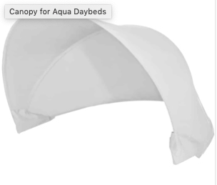 Aries Daybed Canopy - Medium