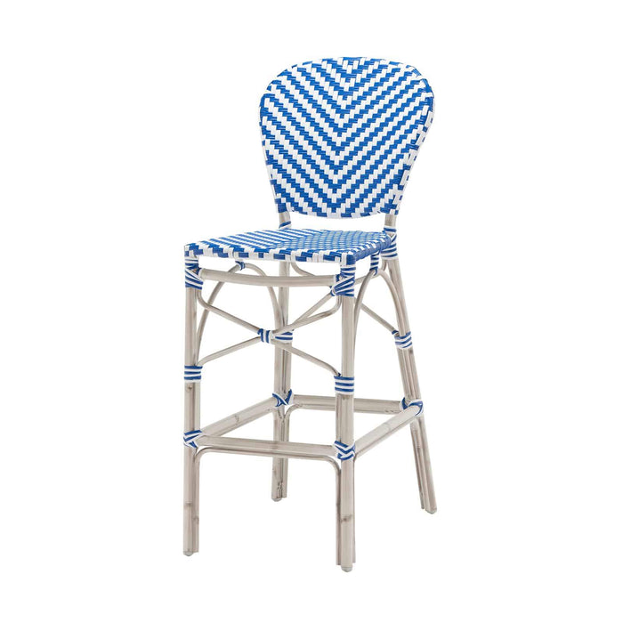 Peoria Vintage Bar Side Armless Chair - Vintage Blue