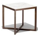 "Imax 26"" Square End Table - Beige"