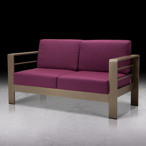 Orion Loveseat - Silver Vein