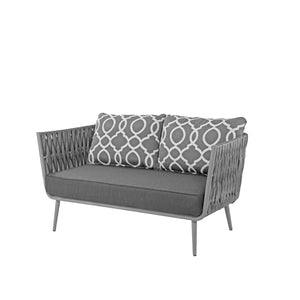 Aegean Loveseat - Gray | Your Patio Store