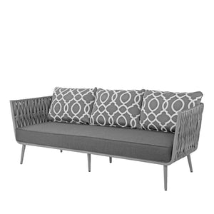 Aegean Sofa - Gray | Your Patio Store