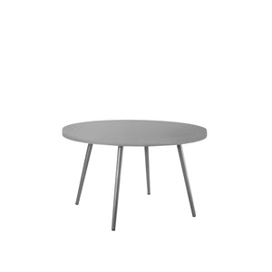 Aegean Dining Table (Round) - Silver | Your Patio Store