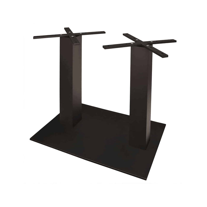 Napa Easton Double Post Square Dining Base