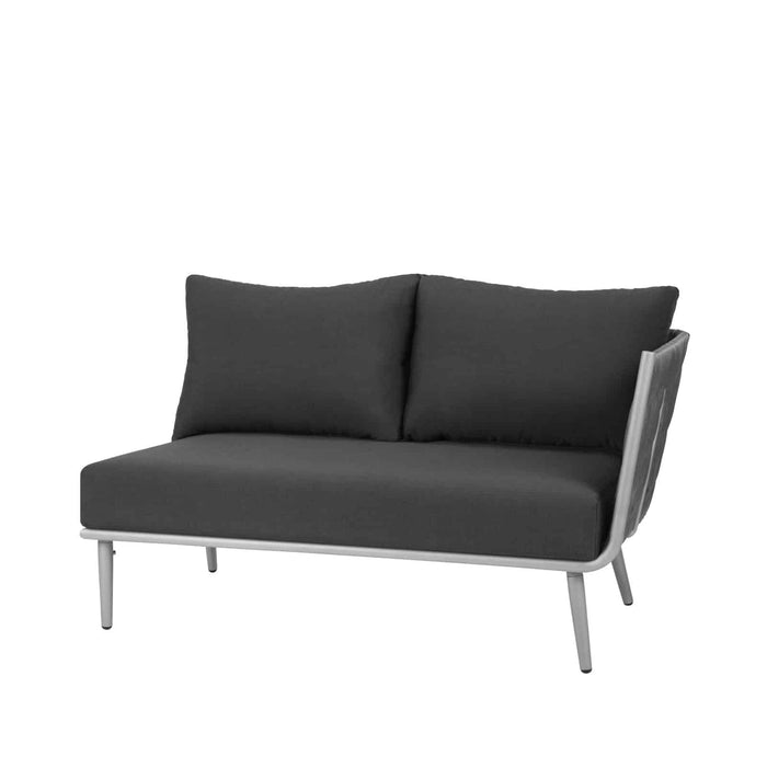 Aegean Right Arm Loveseat - Gray