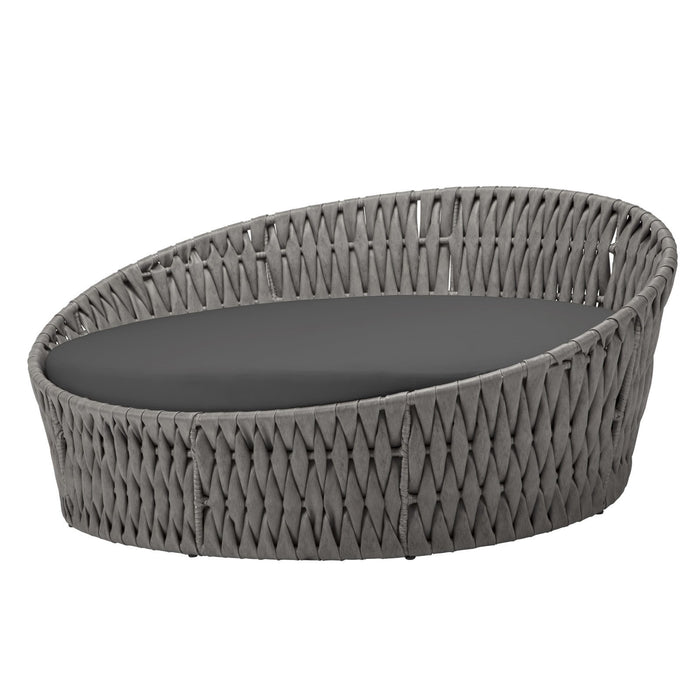 Aegean Daybed Round - Gray