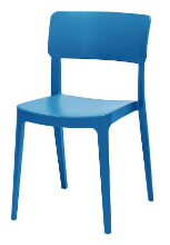 Altamonte Dining Side Chair - Blue