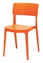 Altamonte Dining Side Chair - Orange