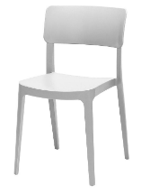 Altamonte Dining Side Chair - White