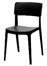 Altamonte Dining Side Chair - Black