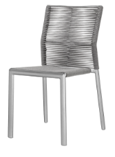 Aspen Dining Side Chair - Charcoal Durarope