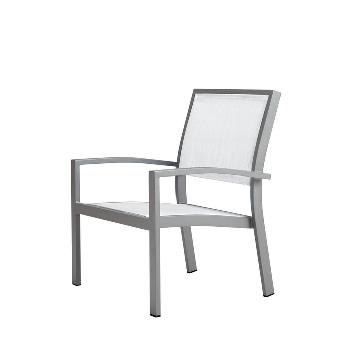 Florence Club Chair - Kessler Silver