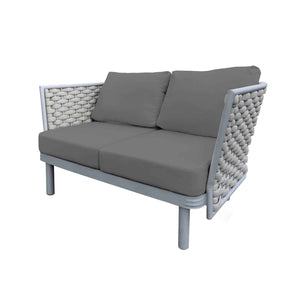 Laguna Loveseat (Silver Durarope) | Your Patio Store