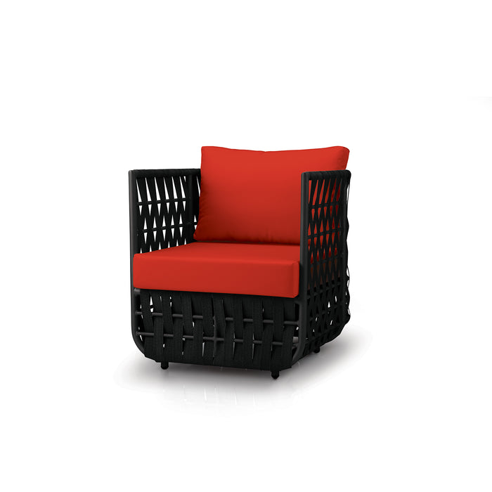 San Juan Club Chair (Black Durastrap)