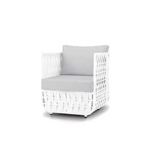 San Juan Club Chair (White Durastrap)
