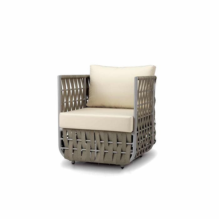 San Juan Club Chair (Gray Durastrap)