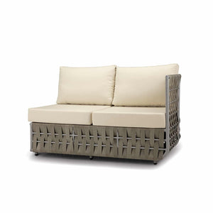 San Juan Right Arm Loveseat (Gray Durastrap)