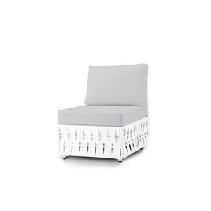 San Juan Armless Chair (White Durastrap)