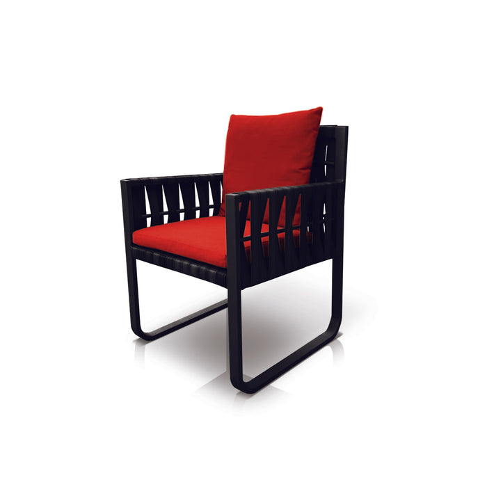 San Juan Dining Chair (Black Durastrap)