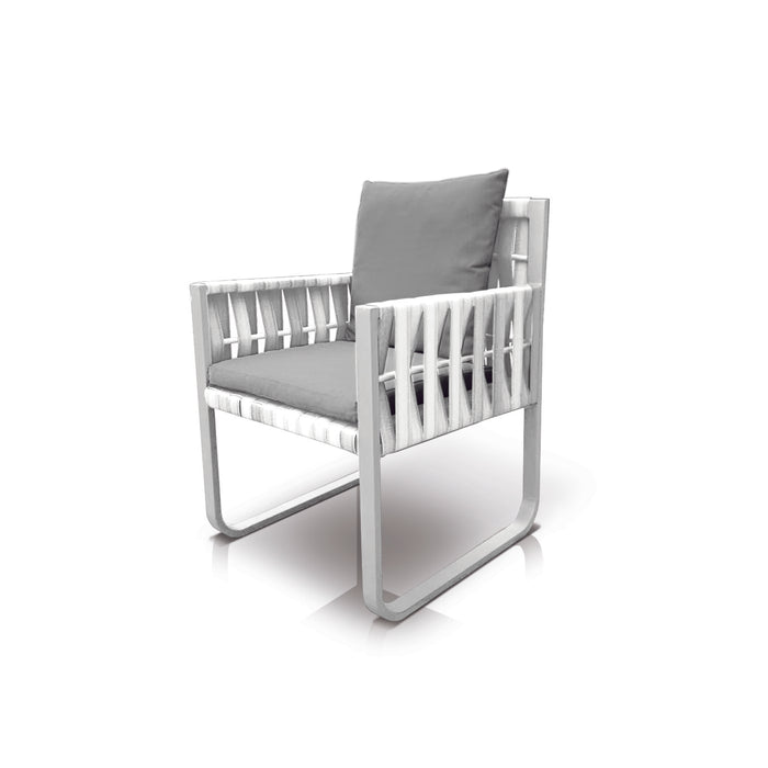 San Juan Dining Chair (White Durastrap)