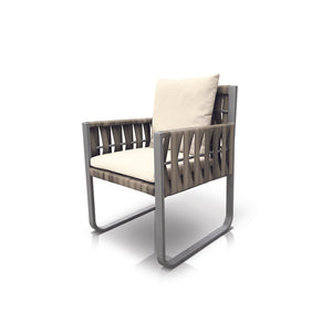 San Juan Dining Chair (Gray Durastrap)
