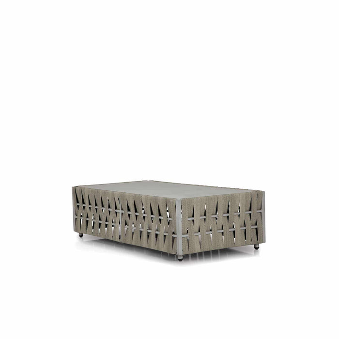 San Juan Coffee Table – Rectangular (Gray Durastrap)